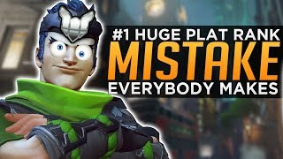 Overwatch: The #1 HUGE Mistake ALL Plat Players Make