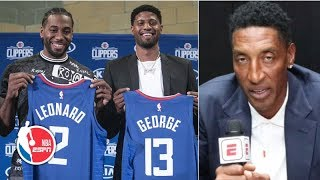 Scottie Pippen gives his early thoughts on the 2019-20 NBA season | NBA on ESPN