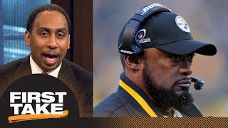 Stephen A. Smith does not think Mike Tomlin should be fired from Steelers | First Take | ESPN