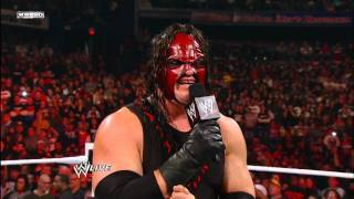 Raw - Kane tells John Cena why he's been targeted
