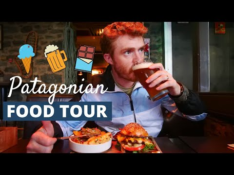 Argentine FOOD TOUR in PATAGONIA 😋🍺| What to EAT in BARILOCHE, Argentina 🇦🇷