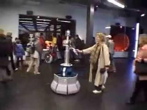 BlueBotics - RoboX - interactive tour-guiding robot