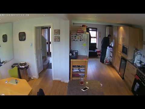 Y-cam Evo Security camera footage
