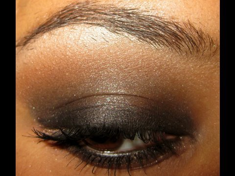 Seductive Black And Brown Smokey Eyes Makeup Tutorial