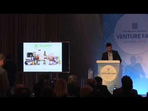 Yoleni's part of The Hellenic Initiative Venture Fair 2015