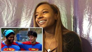 Racist Superman Reaction