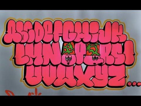 Graffiti Bubble Letters K