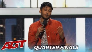 Usama Siddiquee: Comedian Takes Risk With CONTROVERSIAL Heidi Klum 'Tramp' Joke