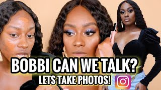 Get Ready With Me! See How I Get Ready To Look Instagram Ready! Ft. Bobbi Brown Crushed Liquid Lips