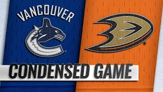 11/21/18 Condensed Game: Canucks @ Ducks