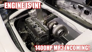Mr2's New 1400Hp Engine Is In! Also Almost Sunk My JetSki