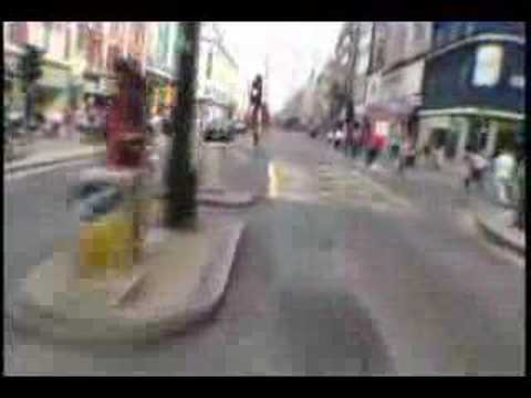 London Calling -  Bike Messengers Race