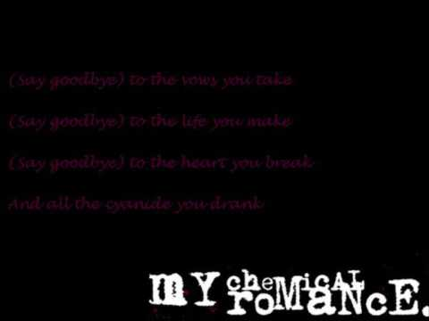 My Chemical Romance - To The End (lyrics)