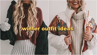 WINTER OUTFIT IDEAS FOR COLD WEATHER!
