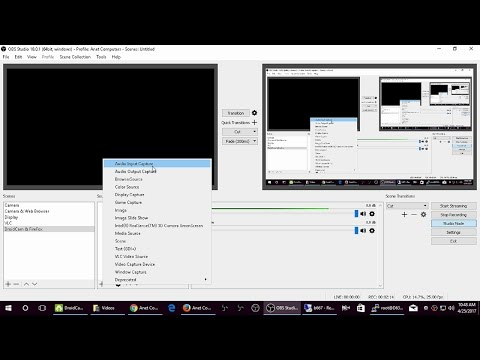 OBS Studio - Creating Scenes and Sources Tutorial