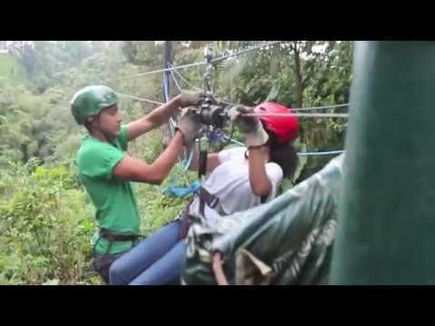 Canopy Zipline Adventure in Mindo, Ecuador