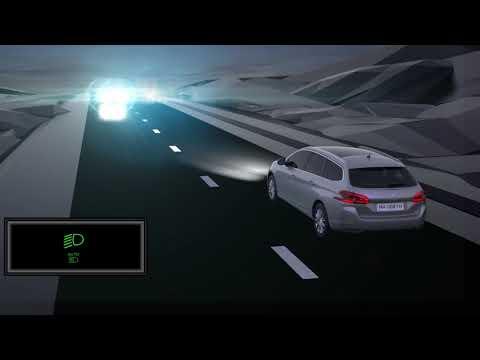Peugeot 308 - Automatisk nær- og fjernlys
