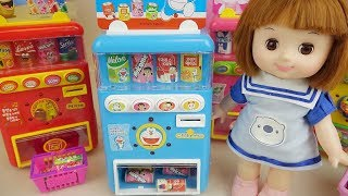 Baby doll and drinks vending machine toys play