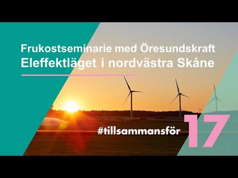 Frukostseminarie med Öresundskraft om eleffektläget 11 mars 2021