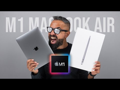 NEW M1 MacBook Air UNBOXING and First Impressions!