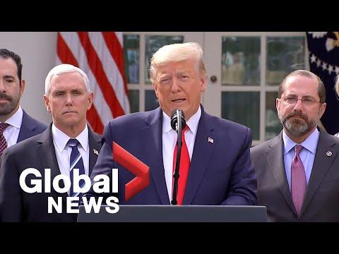 Coronavirus outbreak: Donald Trump declares national emergency over COVID-19 | FULL