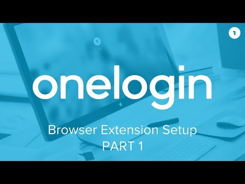 How to set up the OneLogin Browser Extension