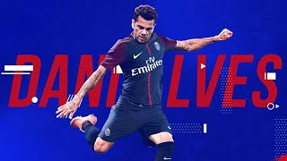 Dani Alves 2018 · PSG · The Champion · Goals, assists and Dribbling | Football BR