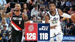 Damian Lillard, CJ McCollum and Donovan Mitchell put on a show in Utah | 2019 NBA Highlights