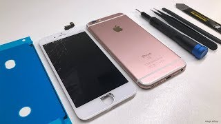 Tutorial: iPhone 6s LCD and Battery Replacement