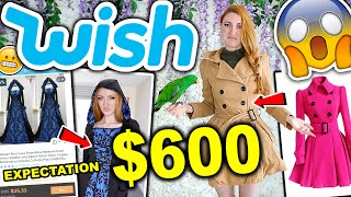 WISH HAUL | I SPENT $600 ON WISH CLOTHING!!! HUGE TRY ON HAUL 2019