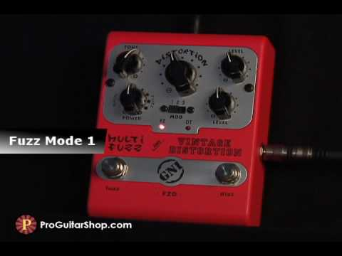 GNI Multi Fuzz and Vintage Distortion