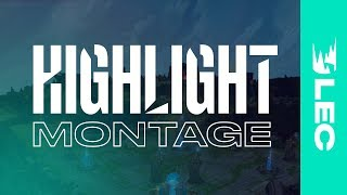 #LEC Playoff Teams: Highlight Montage | Community Collaboration