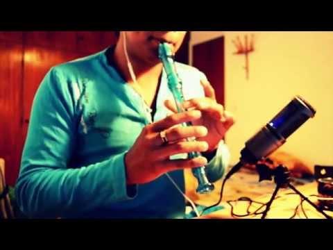 Darte un beso Prince Royce en flauta dulce