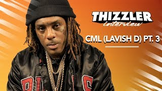 CML tells us his first time meeting Philthy Rich & performing at Mistah FAB's birthday party! (Pt 3)