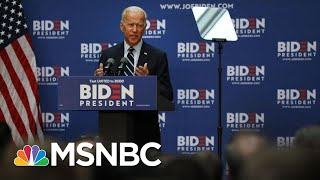 Joe Biden Outlines Foreign Policy Goals To Counter President Donald Trump | Katy Tur | MSNBC