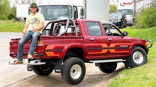 """I bought """"the worlds most indestructible truck"""". 1989 Toyota Hilux Diesel"""