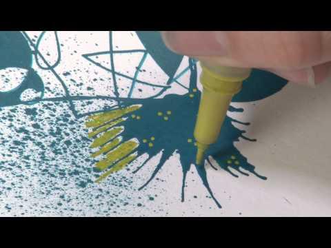 Graphik Line Painter -Set of 5 Pens 02