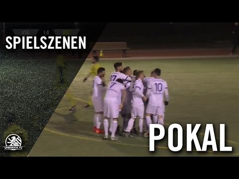 VSG Altglienicke - Berliner SC (Viertelfinale, Berliner Pokal der 1. Herren 2016/2017) - Spielszenen | SPREEKICK.TV