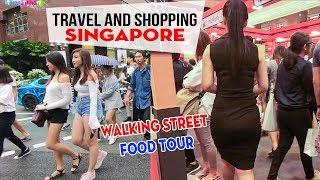 DU LỊCH SINGAPORE ▶ Trải nghiệm Thiên đường Mua sắm, đường phố, ẩm thực siêu sạch!