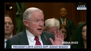 Attorney General Jeff Sessions Testimony at Senate Oversight Hearing