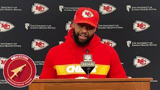 Anthony Hitchens talks Chiefs' improved run game (NFL Super Bowl LIV 2020)