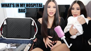 WHAT'S IN MY HOSPITAL BAG + WHAT'S IN MY DIAPER BAG