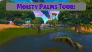 Fortnite - Moisty Palms Tour