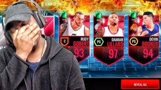 97 HERO OF THE MONTH DAMIAN LILLARD & TOTW PACK OPENING! NBA Live Mobile 16 Gameplay Ep. 91