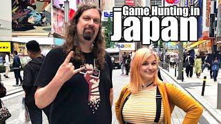 Metal Jesus in JAPAN - Game Hunting in Tokyo (Part1)