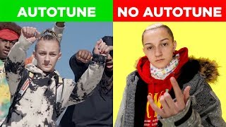 WORST GENIUS INTERVIEWS VS SONGS (AUTOTUNE VS. NO AUTOTUNE)