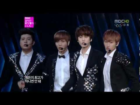 [Full HD] 120719 Super Junior - SUPERMAN + 미인아 @ LA SM Town
