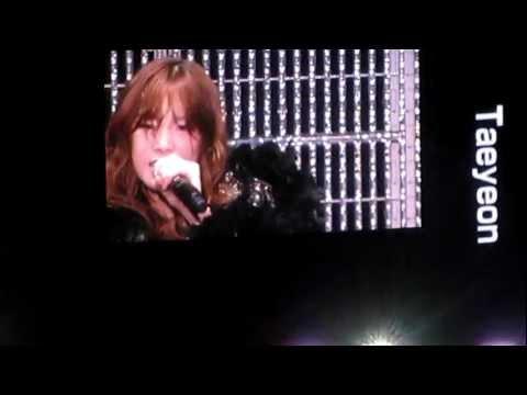 [FANCAM] 120804 SMTown Tokyo 2012 Taeyeon Devil's Cry