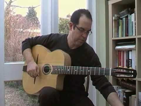 Gypsy Jazz Guitar Lesson: Minor ii-V-i Arpeggios - with tab