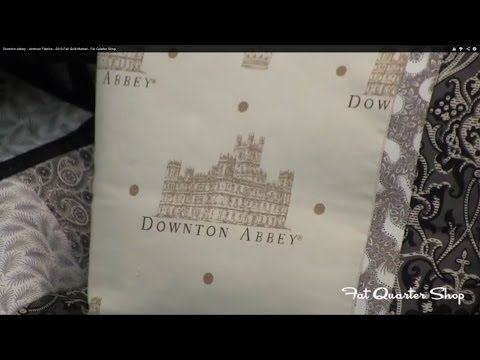 Downton Abbey - Andover Fabrics - 2013 Fall Quilt Market - Fat Quarter Shop - Smashpipe Style